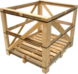 Consolidated Wood Products - Custom Wood Packaging, Crates and Pallets